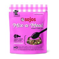 Sojos Mix-A-Meal Lamb Grain-Free Freeze-Dried Raw Dog Food Topper, 8-oz bag