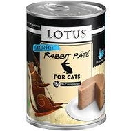 Lotus Rabbit Grain-Free Pate Canned Cat Food, 12.5-oz, case of 12