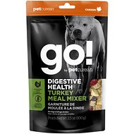 Go! Digestive Health Turkey Meal Mixer Freeze-Dried Grain-Free Dog Food Topper, 3.5-oz bag