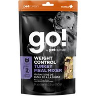Go! Weight Control Turkey Meal Mixer Freeze-Dried Grain-Free Dog Food Topper, 3.5-oz bag