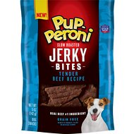 Pup-Peroni Tender Beef Recipe Slow Roasted Jerky Bites Grain-Free Dog Treats, 5-oz bag