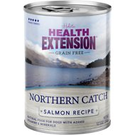 Health Extension Grain-Free Northern Catch Salmon Recipe Canned Dog Food, 12.5-oz, case of 12
