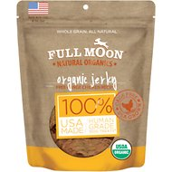 Full Moon Organic Chicken Jerky Dog Treats, 16-oz bag