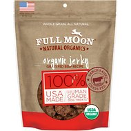 Full Moon Organic Beef Jerky Dog Treats, 14-oz bag