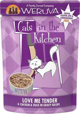 4. Weruva Cats in the Kitchen Love Me Tender Chicken & Duck Recipe