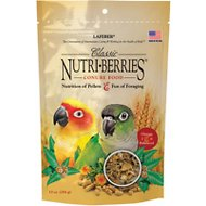 Lafeber Classic Nutri-Berries Conure Bird Food, 10-oz bag