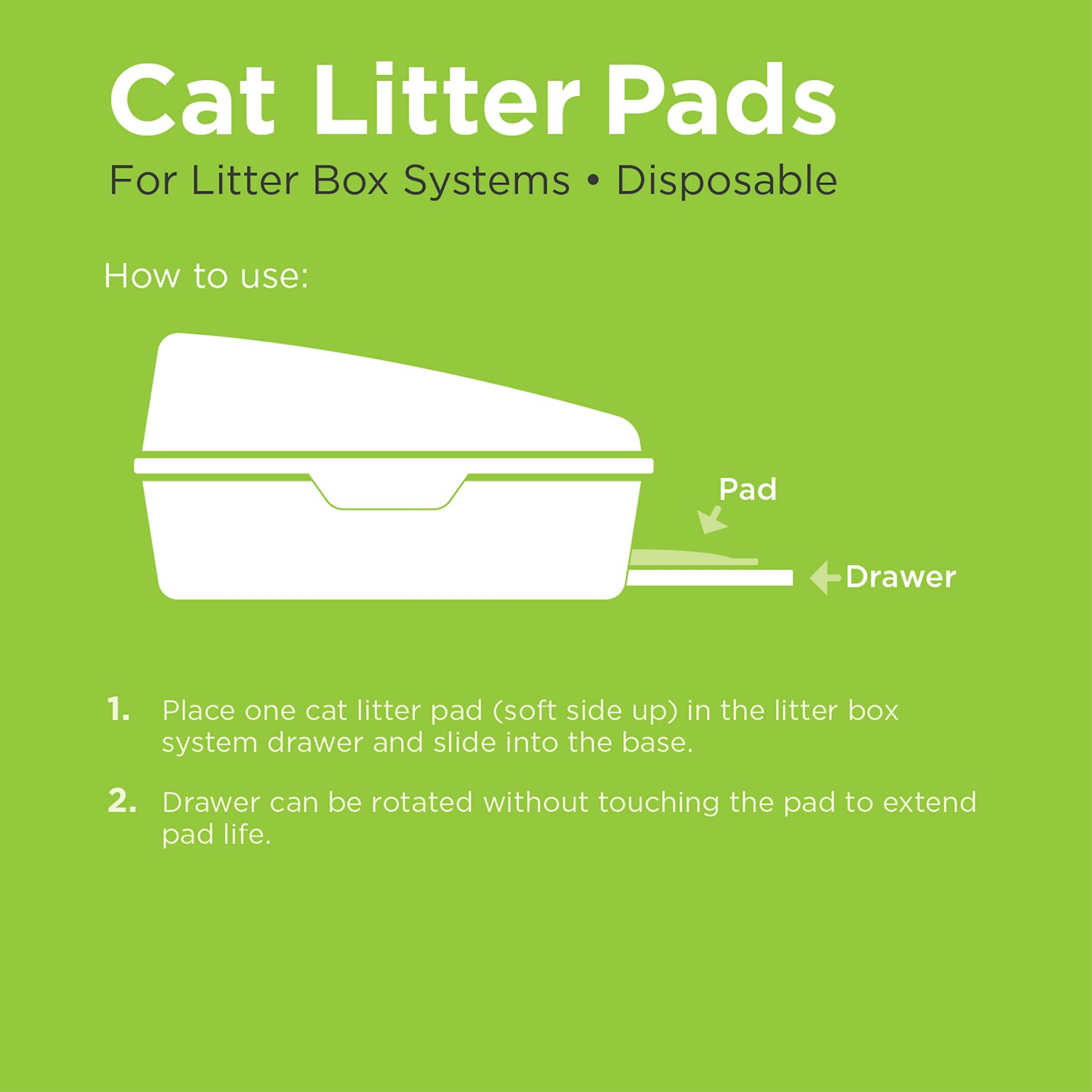 All Kind Cat Litter Pads, 10 count
