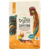 Purina Beyond Simply White Meat Chicken & Egg Recipe Grain-Free Dry Cat Food, 16-lb bag