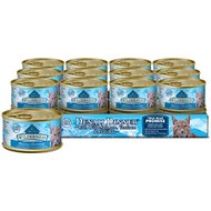 Blue Buffalo Wilderness Denali Dinner with Wild Salmon, Venison & Halibut Grain-Free Canned Cat Food, 3oz, case of 24