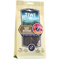 Ziwi Oral Health Air-Dried Beef Weasand Dog Chews, 2.5-oz bag