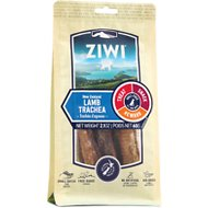 Ziwi Oral Health Air Dried Lamb Trachea Dog Chews, 2.1-oz bag