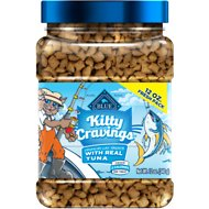 Blue Buffalo Kitty Cravings Tuna Crunchy Cat Treats, 12-oz jar