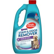 Simple Solution Pet Stain & Odor Remover with Pro-Bacteria and Enzyme Formula, 1-gallon