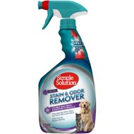 Simple Solution Pet Stain & Odor Remover with Pro-Bacteria and Enzyme Formula, 32-oz bottle
