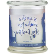 Pet House Jasmine Lily Natural Soy Sentiment Candle, 8.5-oz jar