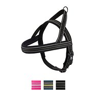 Hurtta Padded Dog Harness, 28-in, Black
