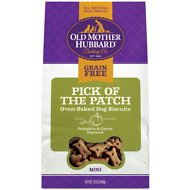 Old Mother Hubbard Mini Pick Of The Patch Grain-Free Biscuits Baked Dog Treats, 16-oz bag