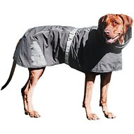 Hurtta Extreme Warmer Dog Jacket, 10-in, Black