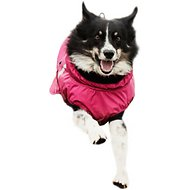 Hurrta Summit Dog Parka, 22-in, Cherry