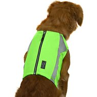 Hurtta Polar Visibility Dog Safety Vest, X-Small, Green