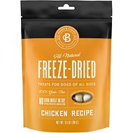 Bones & Chews All-Natural Chicken Recipe Freeze-Dried Dog Treats, 3.5-oz bag