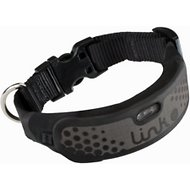Link AKC GPS & Activity Monitor Smart Sports Collar, Black, Large/X-Large