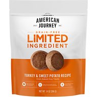 American Journey Turkey & Sweet Potato Recipe Limited Ingredient Dog Treats, 14-oz bag