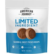 American Journey Salmon & Sweet Potato Recipe Limited Ingredient Dog Treats, 14-oz bag