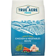 True Acre Foods Chicken & Vegetable Recipe Grain-Free Dry Dog Food, 15-lb bag