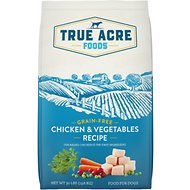 True Acre Foods Chicken & Vegetable Recipe Grain-Free Dry Dog Food, 30-lb bag
