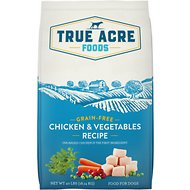 True Acre Foods Chicken & Vegetable Recipe Grain-Free Dry Dog Food, 40-lb bag