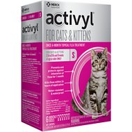 Activyl Flea Treatment for Cats & Kittens, 2-9 lbs, 6 treatments