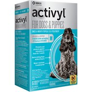Activyl Flea Treatment for Medium Dogs & Puppies, 23-44 lbs, 6 treatments