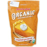 Grandma Lucy's Organic Pumpkin Pie Oven Baked Dog Treats, 8-oz bag