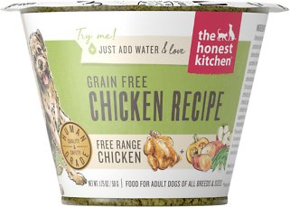 8. The Honest Kitchen Grain-Free Chicken Recipe Dehydrated Dog Food
