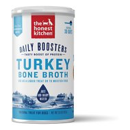 The Honest Kitchen Daily Boosters Instant Turkey Bone Broth with Turmeric for Dogs & Cats, 3.6-oz jar