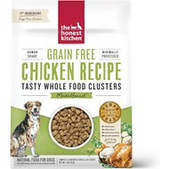 The Honest Kitchen Grain-Free Chicken Whole Food Clusters Dry Dog Food, 1-lb bag