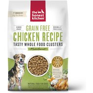 The Honest Kitchen Grain-Free Chicken Whole Food Clusters Dry Dog Food