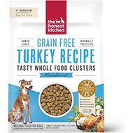 The Honest Kitchen Grain-Free Turkey Whole Food Clusters Dry Dog Food, 1-lb bag