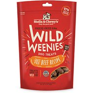 Stella & Chewy's Beef Wild Weenies Freeze-Dried Raw Dog Treats, 11.5-oz bag