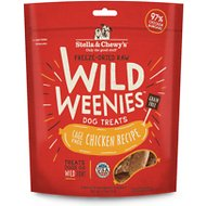 Stella & Chewy's Chicken Wild Weenies Freeze-Dried Raw Dog Treats, 3.25-oz bag