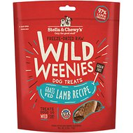 Stella & Chewy's Lamb Wild Weenies Freeze-Dried Raw Dog Treats, 3.25-oz bag
