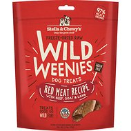 Stella & Chewy's Red Meat Wild Weenies Freeze-Dried Raw Dog Treats, 3.25-oz bag
