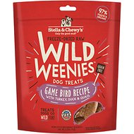 Stella & Chewy's Game Bird Wild Weenies Freeze-Dried Raw Dog Treats, 3.25-oz bag