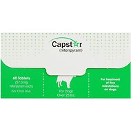 Capstar Flea Tablets for Dogs over 25 lbs, 60 count