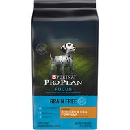 Purina Pro Plan Focus Puppy Grain-Free Chicken & Egg Formula Dry Dog Food, 4-lb bag