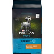 Purina Pro Plan Focus Puppy Grain-Free Chicken & Egg Formula Dry Dog Food, 24-lb bag