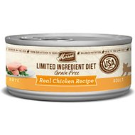 Merrick Limited Ingredient Diet Grain-Free Chicken Canned Cat Food, 2.75-oz, case of 24
