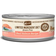 Merrick Limited Ingredient Diet Grain-Free Salmon Canned Cat Food, 2.75-oz, case of 24