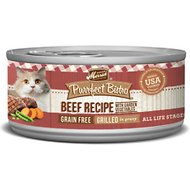 Merrick Purrfect Bistro Grilled Beef & Vegetables Recipe Grain-Free Canned Cat Food, 5.5-oz, case of 24